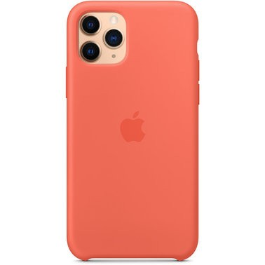 Чехол силиконовый оригинальный iPhone 11 Pro Silicone Case – Clementine (MWYQ2) - ТвойGadget