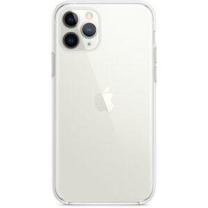 Чехол прозрачный оригинальный iPhone 11 Pro Clear Case (MWYK2) - ТвойGadget