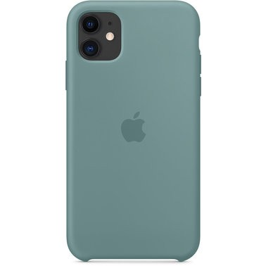Чехол силиконовый оригинальный iPhone 11 Silicone Case – Cactus (MXYW2) - ТвойGadget