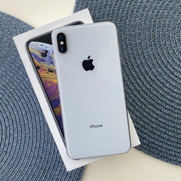 Apple iPhone Xs Max 64GB Silver (MT512) Б/У состояние – А - ТвойGadget