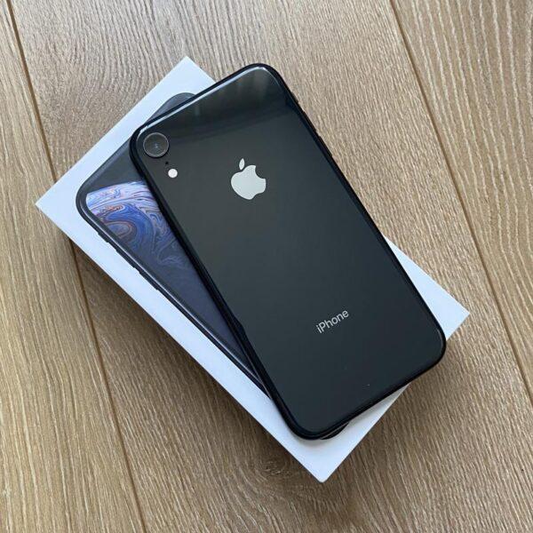 Apple iPhone Xr 64GB Black (MRY42) Б/У состояние – А - ТвойGadget