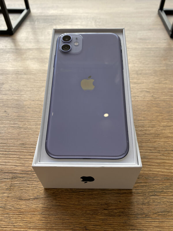Apple iPhone 11 128 GB Purple (MWLJ2) Б/У состояние – А - ТвойGadget