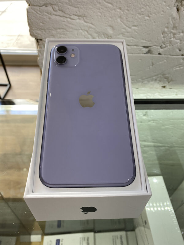 Apple iPhone 11 64GB Purple (MWLC2) Б/У состояние – А - ТвойGadget