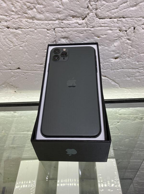 Apple iPhone 11 Pro Max 256GB Midnight Green (MWH72) Б/У состояние – А - ТвойGadget