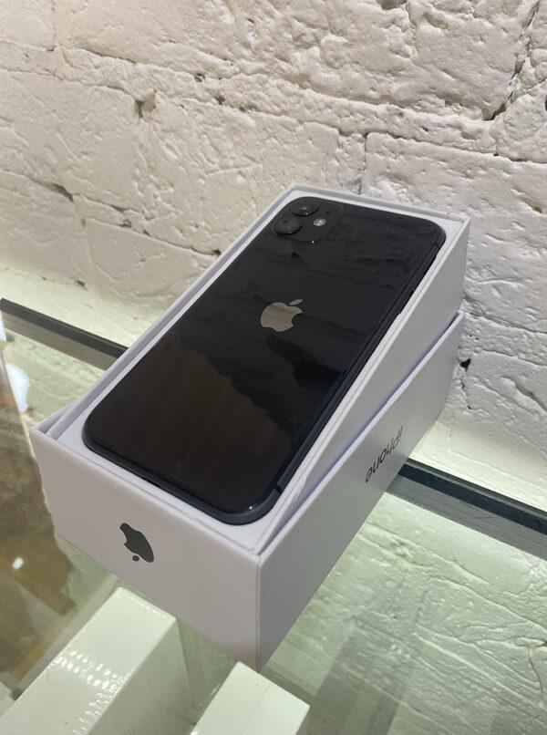Apple iPhone 11 128 GB Black (MWLE2) Б/У состояние – А - ТвойGadget