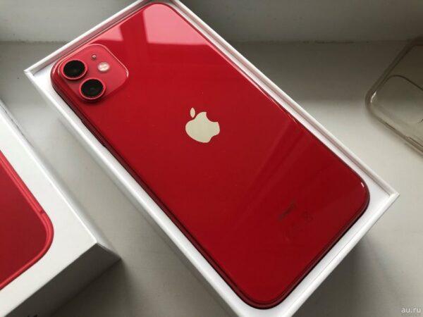Apple iPhone 11 256GB Red (MWLN2) Б/У состояние – А - ТвойGadget