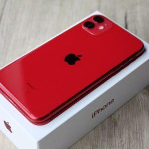 Apple iPhone 11 128 GB Red (MWKG2) ; состояние – А - ТвойGadget