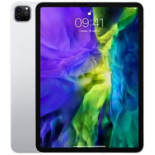 Apple iPad Pro 11″ (2020) Wi-Fi+Cellular 1Tb Silver (MXF22) - ТвойGadget