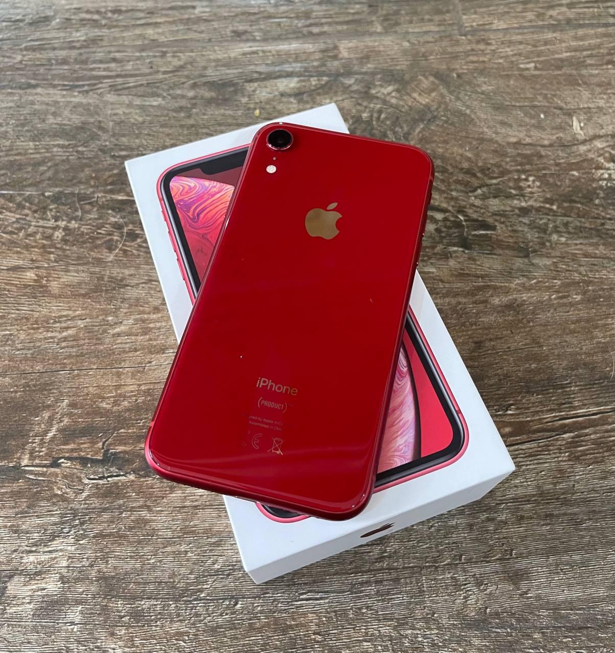 Apple iPhone Xr 64GB Red Б/У состояние – А - ТвойGadget