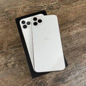 Apple iPhone 11 Pro Max 64GB Silver (MWH02) Б/У состояние — А - ТвойGadget