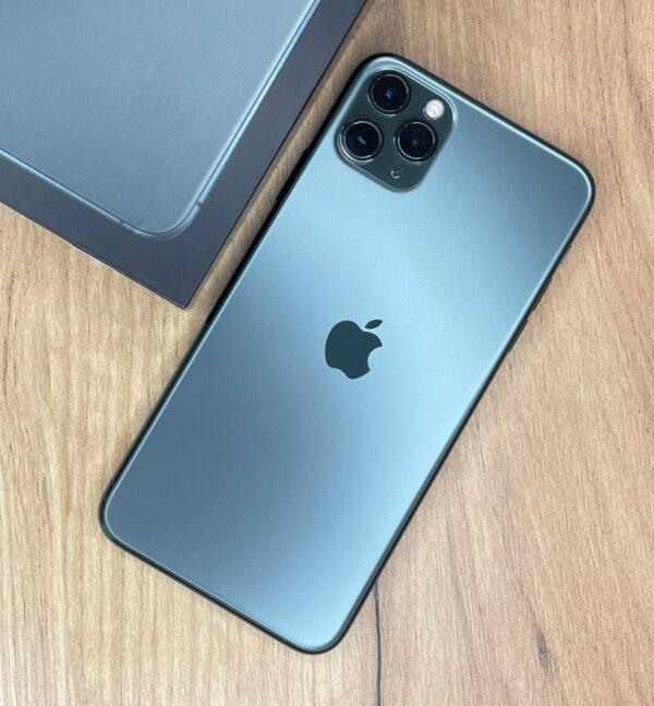 Apple iPhone 11 Pro Max 64GB Midnight Green (MWH22) Б/У состояние — А - ТвойGadget