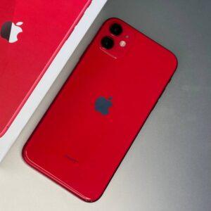 Apple iPhone 11 128 GB Red (MWKG2) Б/У состояние — А - ТвойGadget