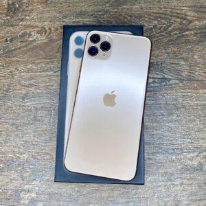 Apple iPhone 11 Pro Max 512GB Gold (MWHA2) Б/У состояние — А - ТвойGadget