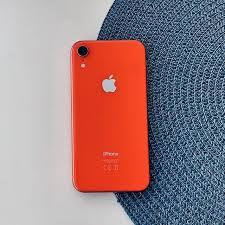 Apple iPhone Xr 256GB Coral (MRYP2) Б/У состояние – А - ТвойGadget