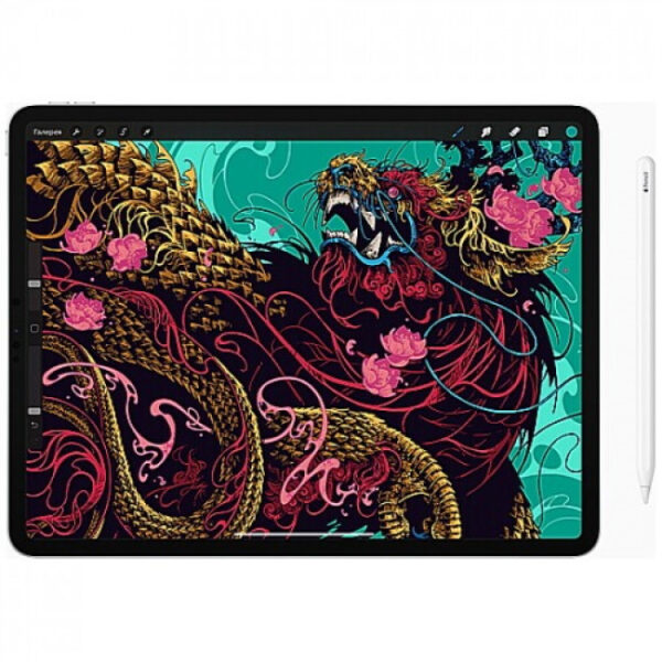 Apple iPad Pro 12.9″ (2020) Wi-Fi+Cellular 256Gb Silver (MXFY2) - ТвойGadget