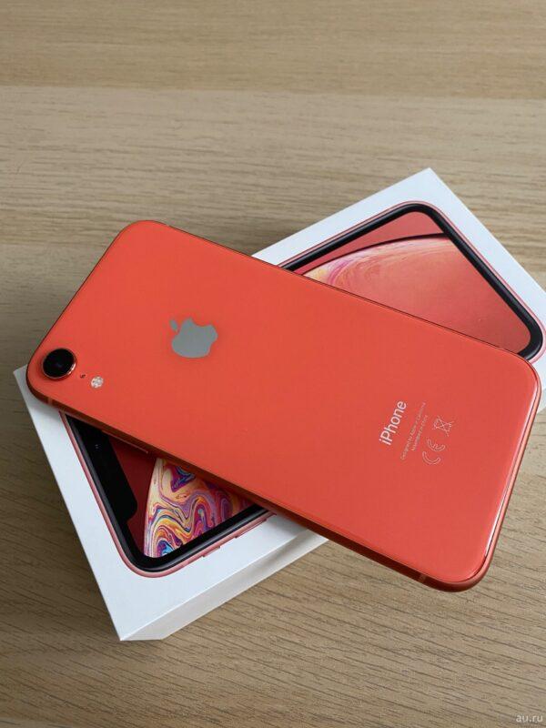 Apple iPhone Xr 128GB Coral (MRYG2) Б/У состояние — А - ТвойGadget