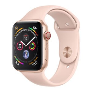 Apple Watch Series 4 GPS 44mm Gold Alum. w. Pink Sand Sport l. Gold Alum. (MU6G2) - ТвойGadget