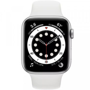 Apple Watch Series 6 GPS 40mm Silver Aluminum Case w. White Sport B. (MG283) - ТвойGadget