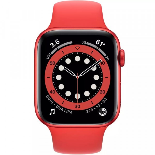Apple Watch Series 6 GPS 40mm (PRODUCT) RED Aluminum Case w. (PRODUCT) RED Sport B. (M00A3) - ТвойGadget