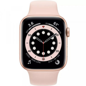 Apple Watch Series 6 GPS 40mm Gold Aluminum Case w. Pink Sand Sport B. (MG123) - ТвойGadget