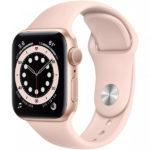 Apple Watch Series 6 GPS 44mm Silver Aluminum Case w. White Sport B. (M00D3) - ТвойGadget