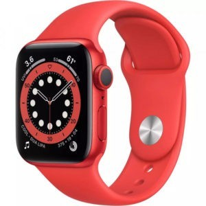 Apple Watch Series 6 GPS 44mm (PRODUCT) RED Aluminum Case w. (PRODUCT) RED Sport B. (M00M3) - ТвойGadget