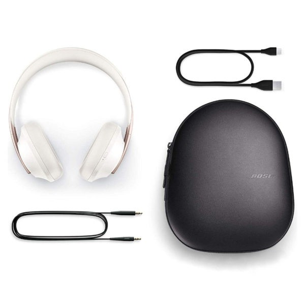 Bose Noise Cancelling Headphones 700 White - ТвойGadget