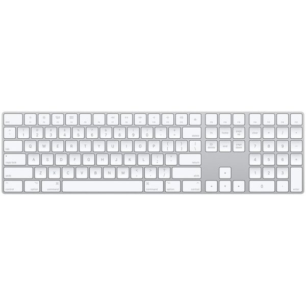 Клавіатура Apple Magic Keyboard with Numeric Keypad (MQ052) - ТвойGadget