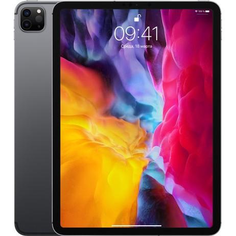 Apple iPad Pro 11 2020 Wi-Fi + Cellular 128GB Space Gray (MY332, MY2V2) [OPEN BOX] - ТвойGadget