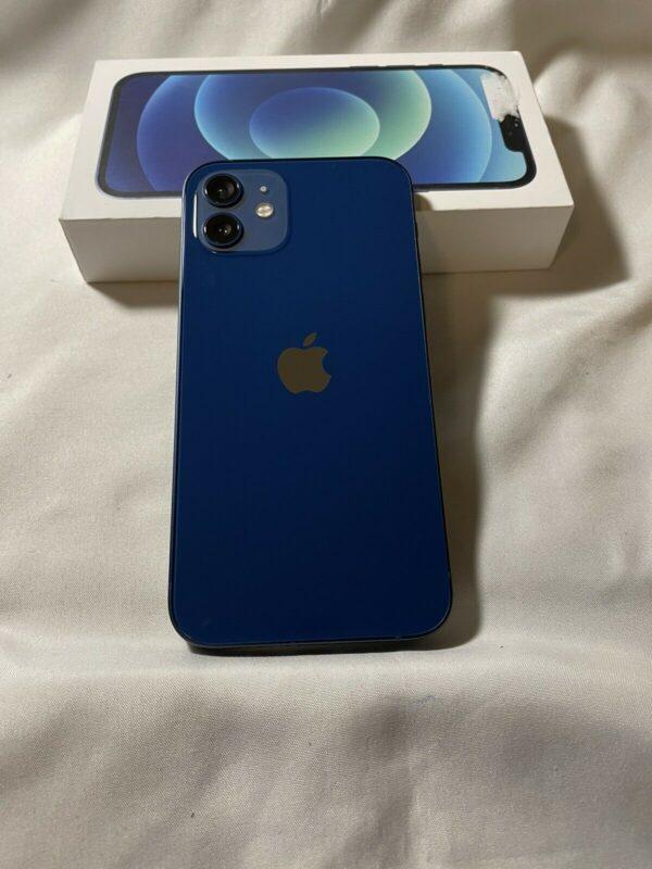 Apple iPhone 12 256GB Blue (MGJK3/MGHL3) Б/У состояние – А - ТвойGadget