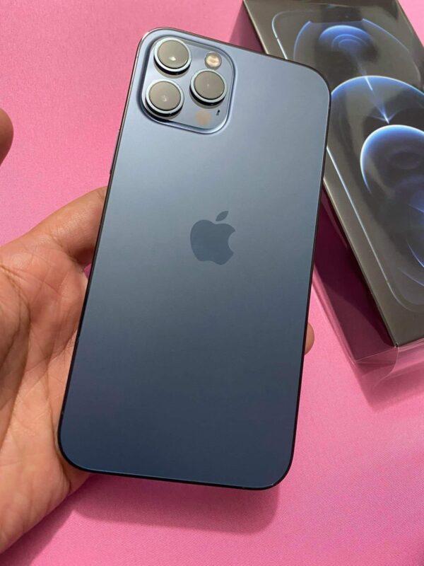 Apple iPhone 12 Pro 128GB Pacific Blue (MGMN3/MGLR3) Б/У состояние – А - ТвойGadget