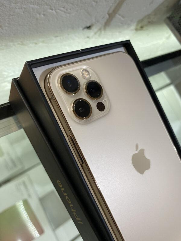 Apple iPhone 12 Pro Max 256GB Gold (MGDE3) Б/У состояние – А - ТвойGadget