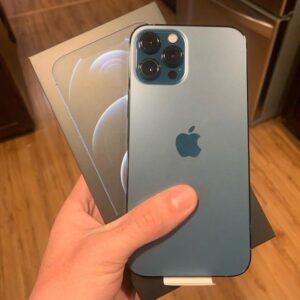 Apple iPhone 12 Pro Max 256GB Pacific Blue (MGDF3) Б/У состояние – А - ТвойGadget