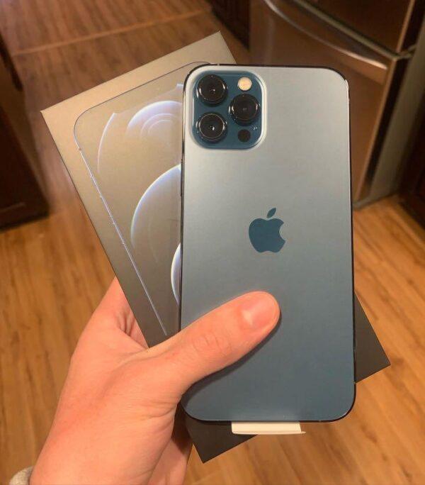 Apple iPhone 12 Pro Max 256GB Pacific Blue (MGDF3) состояние – А - ТвойGadget