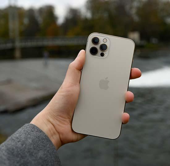 Apple iPhone 12 Pro 512GB Silver (MGMV3/MGLY3) состояние – А - ТвойGadget