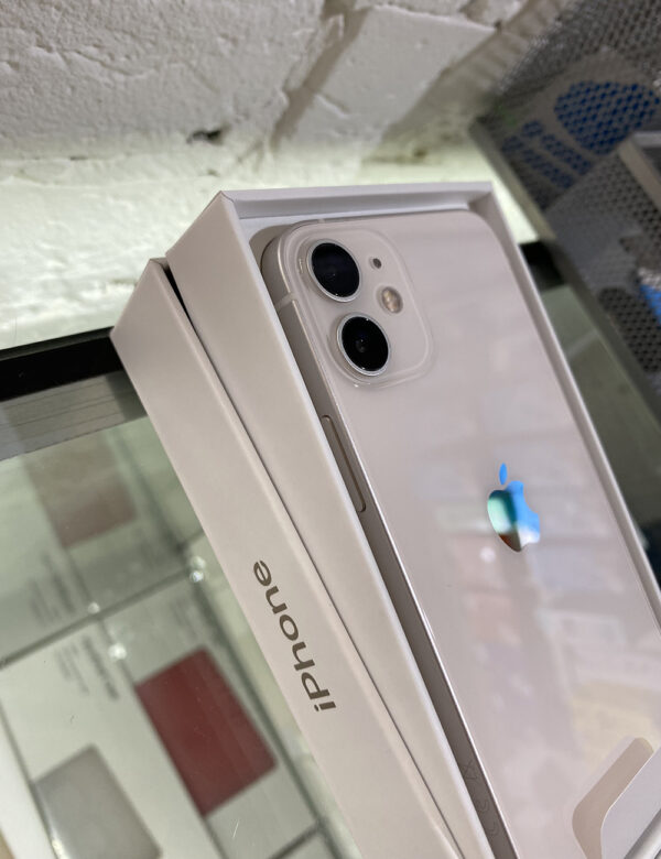 Apple iPhone 12 128GB White (MGJC3/MGHD3) Б/У состояние — А - ТвойGadget