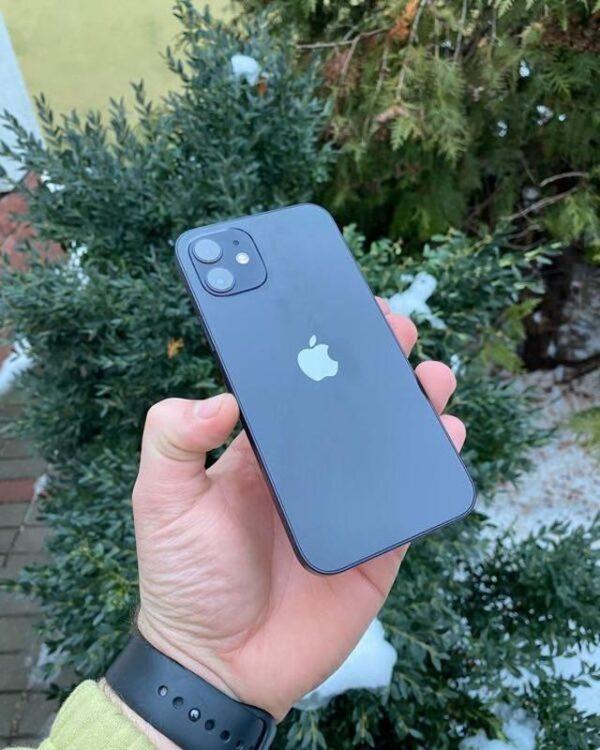 Apple iPhone 12 128GB Black (MGJA3/MGHC3) состояние – А - ТвойGadget