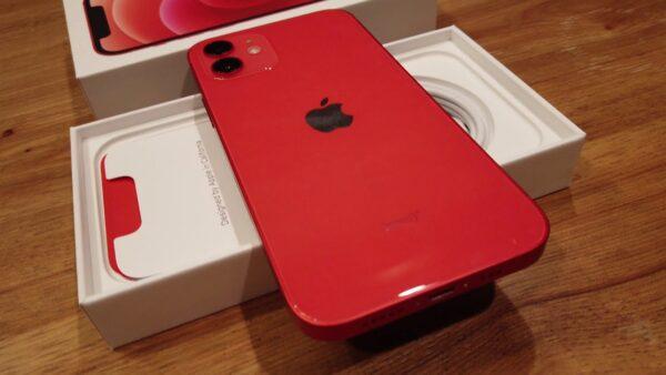 Apple iPhone 12 128GB (PRODUCT)RED (MGJD3/MGHE3) состояние – А - ТвойGadget