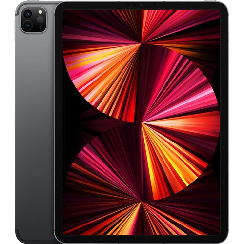 Apple iPad Pro 11″ Wi-Fi + Cellular 128GB M1 Space Gray (MHW53) 2021 - ТвойGadget