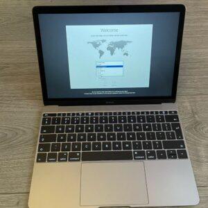 Apple MacBook 12″ Space Gray (MLH72) 2016 Б/У состояние – А - ТвойGadget