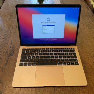 Apple MacBook Air 13″ Gold 2019 (MVFM2) Б/У состояние – А - ТвойGadget