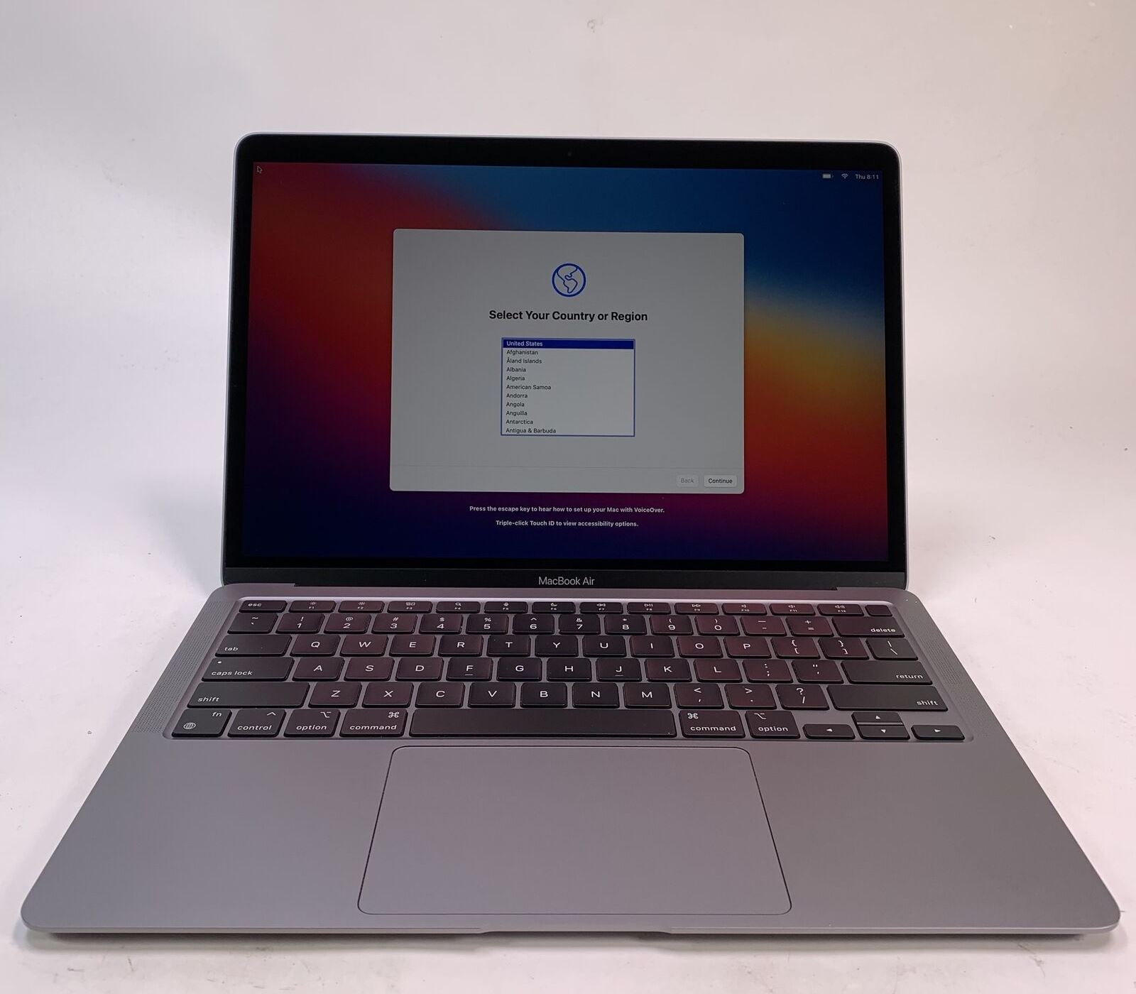 Apple MacBook Air 13″ Space Gray Late 2020 (MGN63) Б/У состояние – А - ТвойGadget