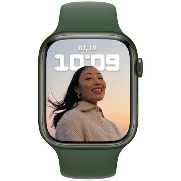 Apple Watch Series 7 GPS 45mm Green Aluminum Case - ТвойGadget