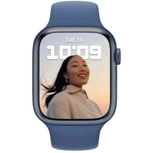 Apple Watch Series 7 GPS, 41mm Blue Aluminium Case - ТвойGadget
