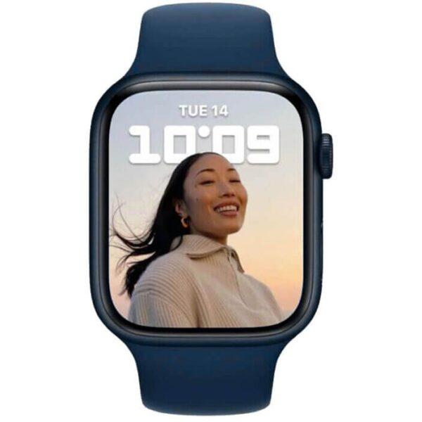 Apple Watch Series 7 GPS, 41mm Midnight Aluminium Case - ТвойGadget