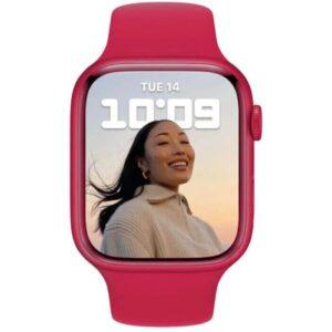 Apple Watch Series 7 GPS, 41mm (PRODUCT)RED Aluminium Case - ТвойGadget