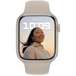 Apple Watch Series 7 GPS, 41mm Starlight Aluminium Case - ТвойGadget